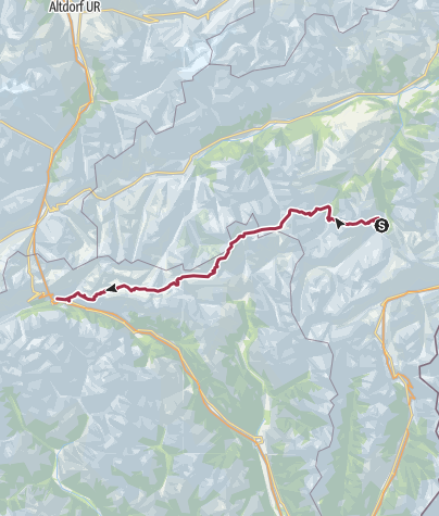 Map / AlpinArcTrail-13-Vals-Airolo