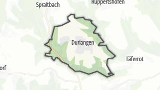地图 / Durlangen