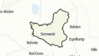Mapa / Stemwede