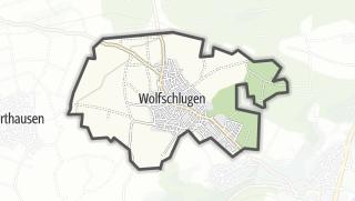 Cartina / Wolfschlugen