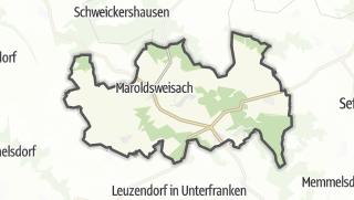 Mapa / Maroldsweisach