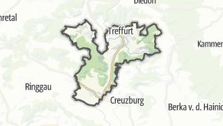 Mapa / Treffurt
