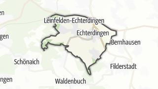 Cartina / Leinfelden-Echterdingen