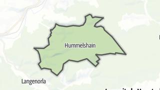Karte / Hummelshain