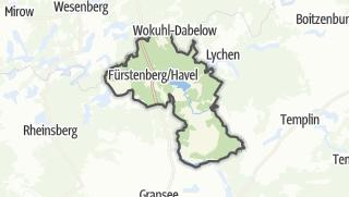Cartina / Fürstenberg/Havel
