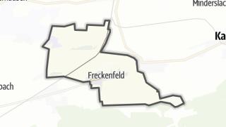Karte / Freckenfeld