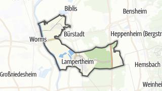 Karte / Lampertheim