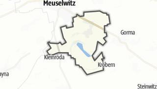 מפה / Kriebitzsch