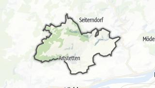 Cartina / Artstetten-Pöbring