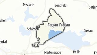 Map / Fargau-Pratjau