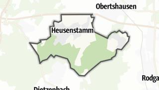 Karte / Heusenstamm