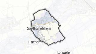Karte / Gau-Bischofsheim