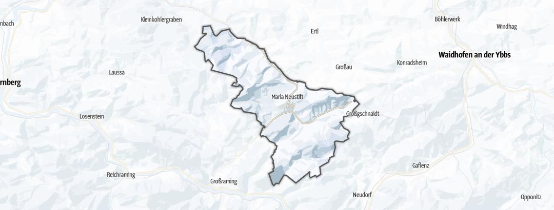Karte / Skitouren in Maria Neustift
