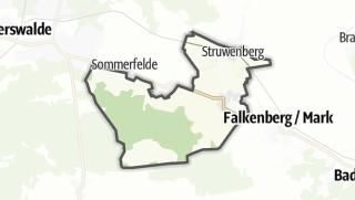 地图 / Hohenfinow