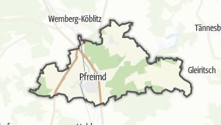 Mapa / Pfreimd