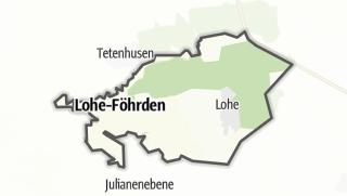 Karte / Lohe-Föhrden