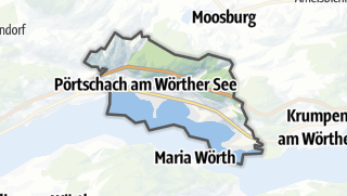 地图 / Poertschach am Woerther See