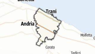 Térkép / Trani