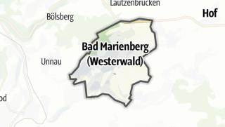 Mapa / Bad Marienberg (Westerwald)