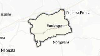 Hartă / Montelupone