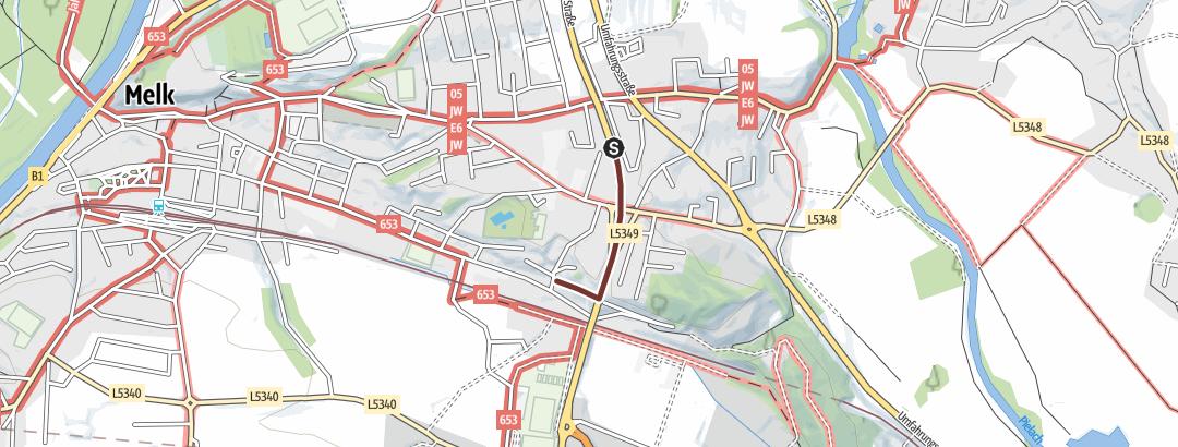 Térkép / Tourenplanung am 13.Mai 2019