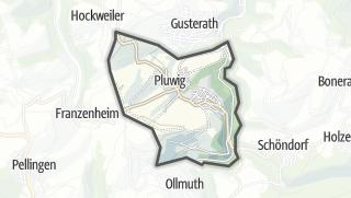 Karte / Pluwig