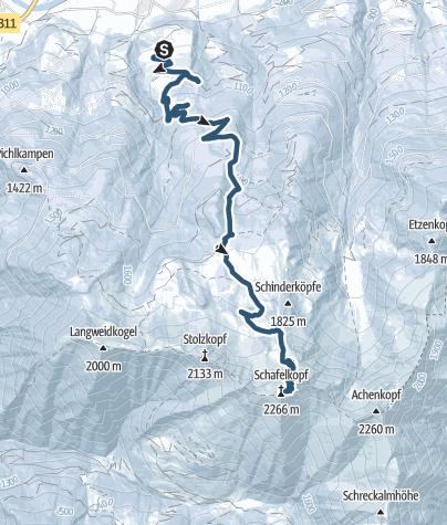 Karte / Drei Brüder von Ferienhof Oberreit