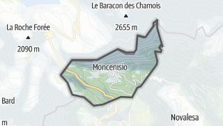 מפה / Moncenisio