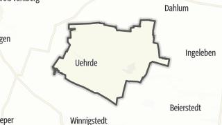 Mapa / Uehrde