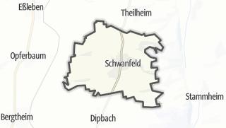 Cartina / Schwanfeld