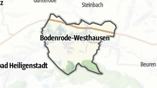 Map / Bodenrode-Westhausen