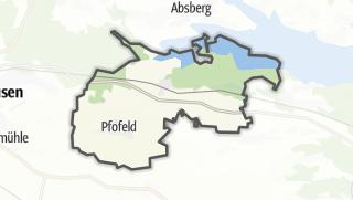 Mapa / Pfofeld