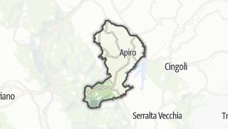 Hartă / Apiro
