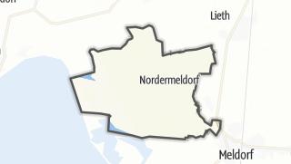 Mapa / Nordermeldorf