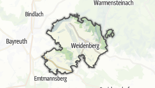 地图 / Weidenberg