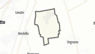 Hartă / Comun Nuovo