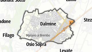 Hartă / Dalmine