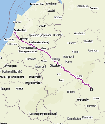 Karte / Linden/Bloomendahl