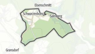 Mapa / Schwarzenborn