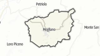 Hartă / Mogliano