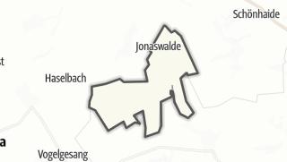 מפה / Jonaswalde