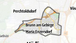 מפה / Brunn am Gebirge
