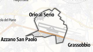 Hartă / Orio al Serio