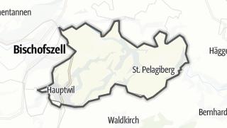 Cartina / Hauptwil-Gottshaus