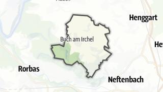 Kart / Buch am Irchel