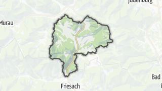 Mapa / Neumarkt in Steiermark