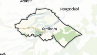 Karte / Gemünden