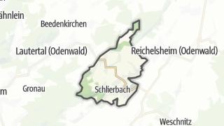 Karte / Lindenfels