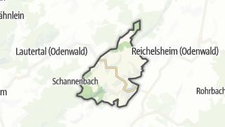 Carte / Lindenfels