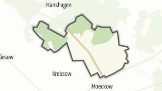 Carte / Wrangelsburg